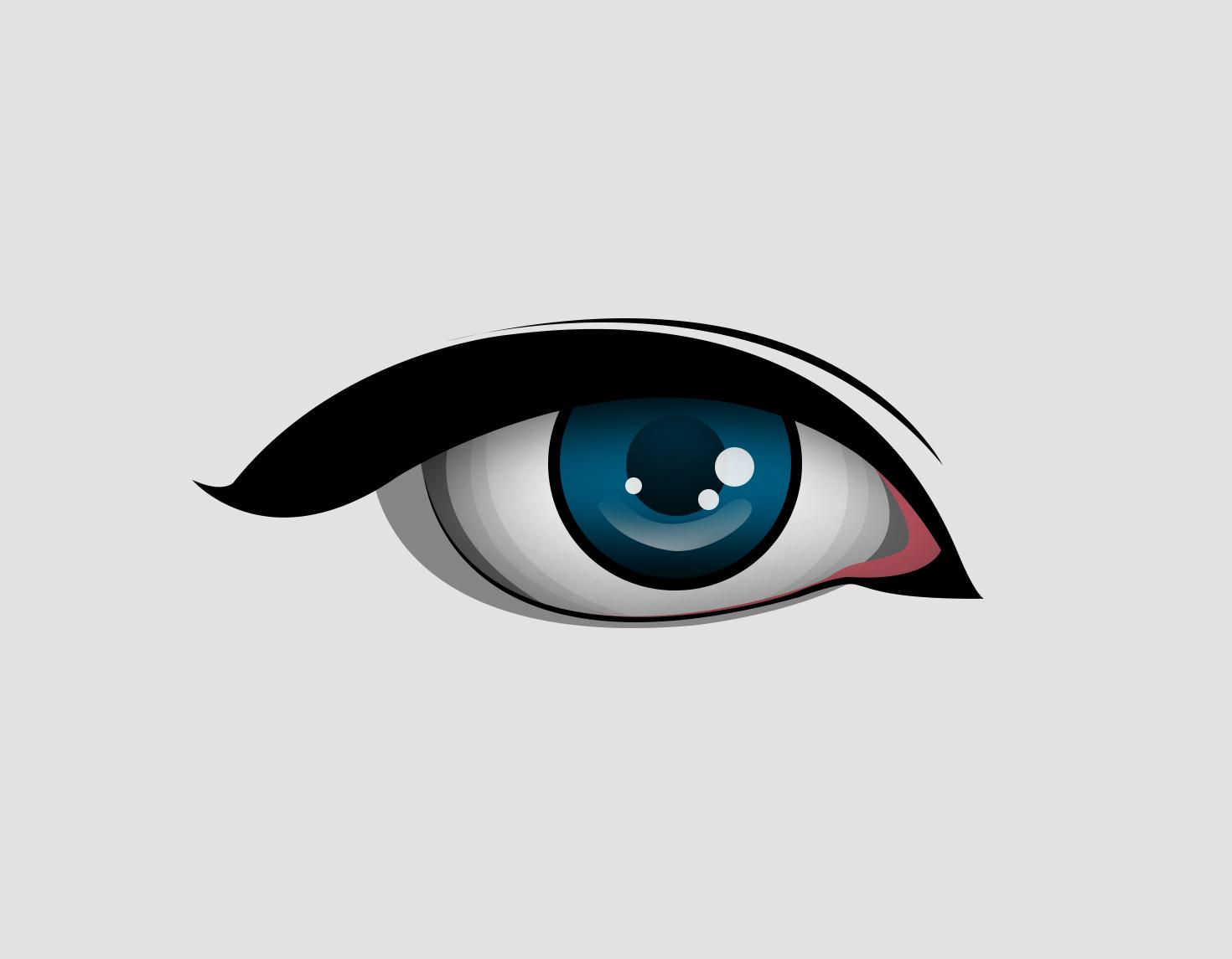 Tutorial Cara Membuat Vector Mata Dengan Photoshop BELAJAR EDIT
