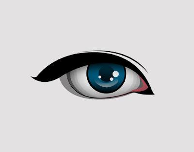 Tutorial Cara Membuat Vector Mata