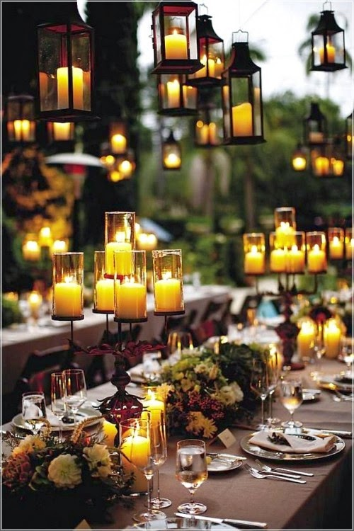 Romantic Lighting for Weddings