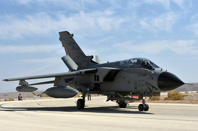Tornado Aeronautica Blue Flag Israele