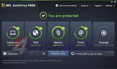 AVG AntiVirus Free 2017 Build 3354 Terbaru