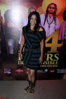 Shibani Kashyap Launches her Music Single led 24 Hours Irresponsible 020.JPG