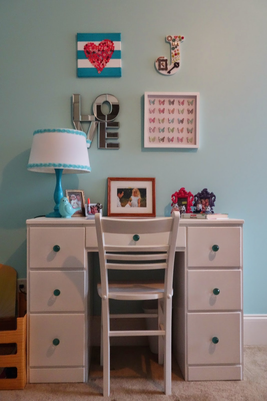 Cheap White Desk Chair Beach Chairs Sam S Club Candace Creations Diy And Turquoise