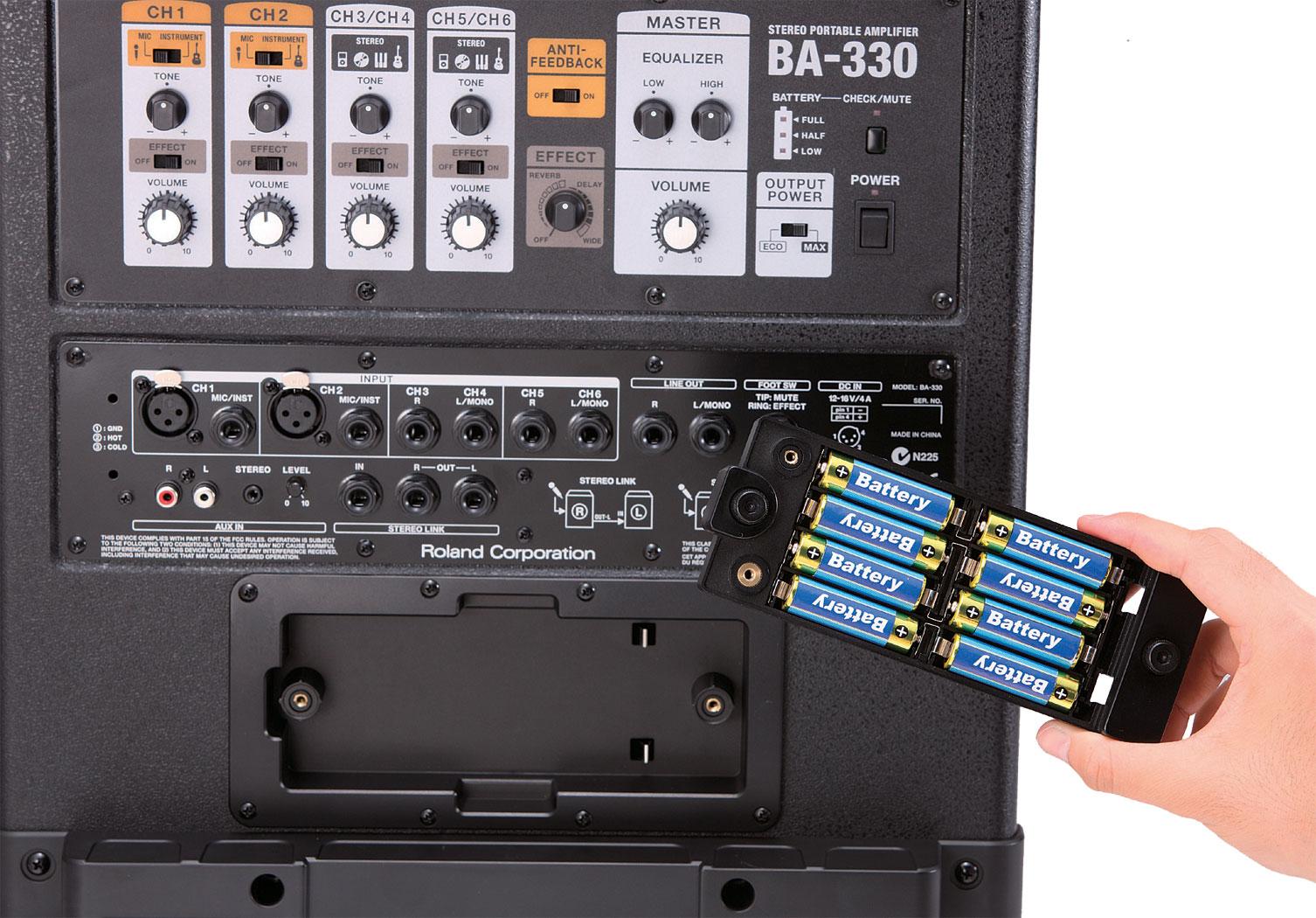 Giá Bộ Loa Di Động Roland BA-330