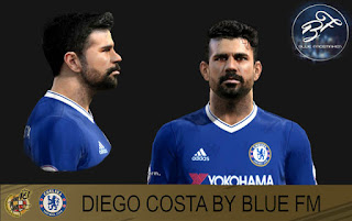 PES 2013 Face Diego Costa by BLUE FM
