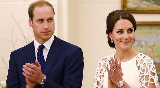 Kate Middleton dan Pangeran William  Memilih Untuk Menghabiskan Liburan Secara Terpisah