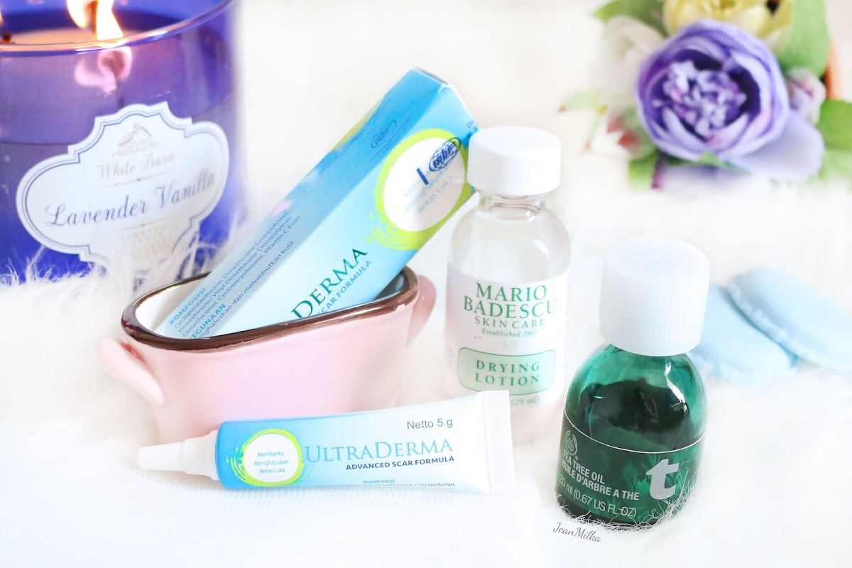 skincare, acne, jerawat, solusi jerawat, acnes, acne skin, kulit berjerawat, mengatasi jerawat, beauty blogger indonesia, ultraderma, mario badescu, the body shop tea tree, menard