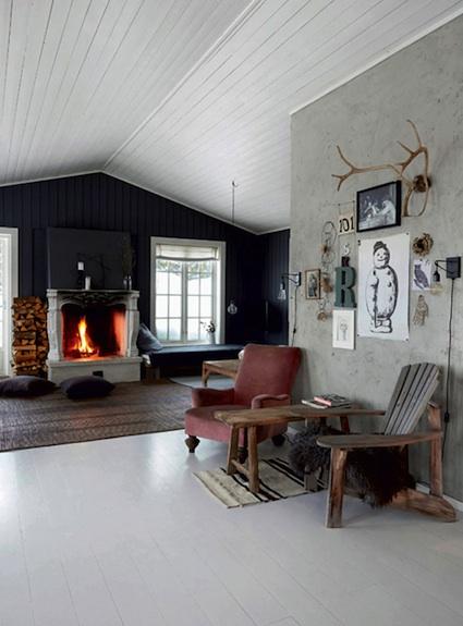 My Scandinavian Home The Rustic Norwegian Log Cabin Hide Away