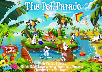 The Pet Parade blog hop logo