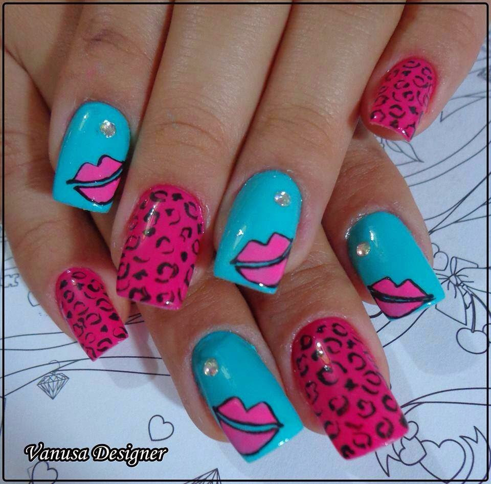 Modern Nails Decorations With New and Beautiful Designs ...