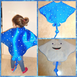 Disfraz mantarraya - Stingray costume