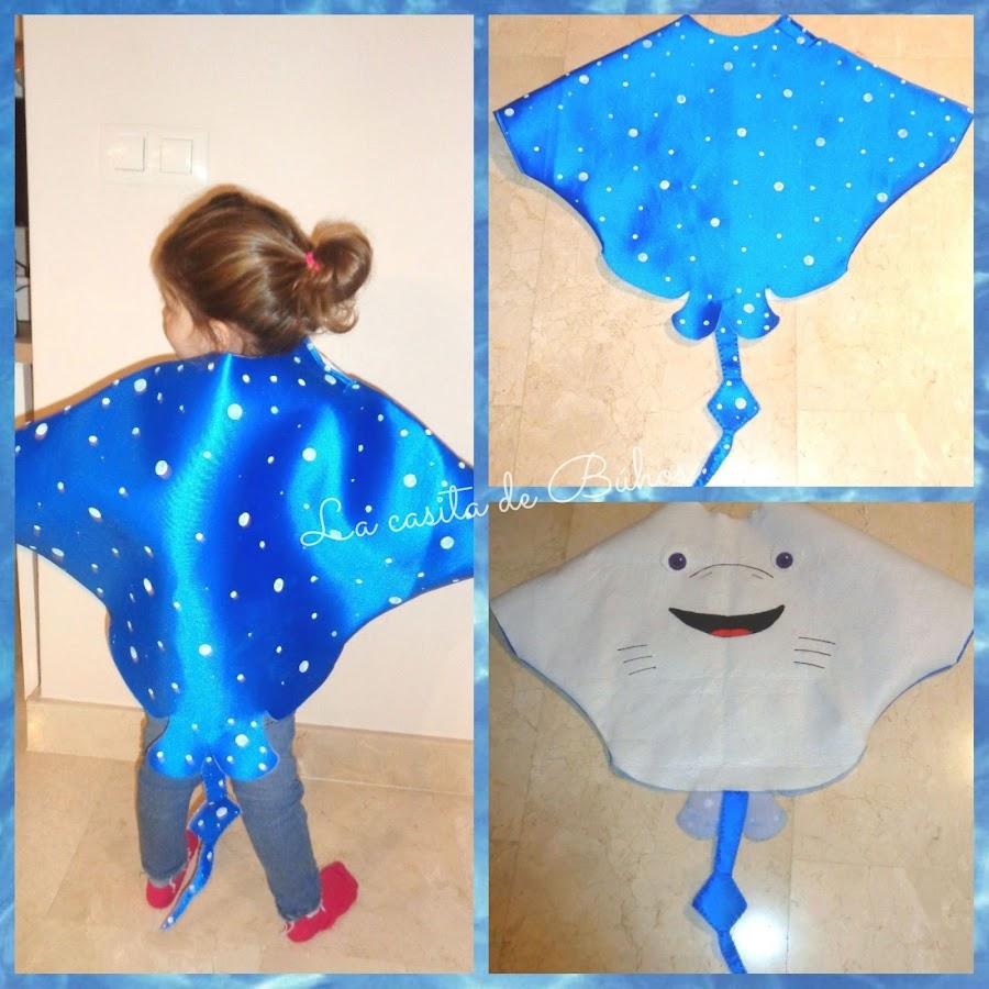Disfraz mantarraya - Stingray costume