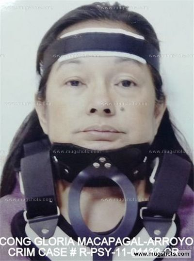 Gloria Arroyo Mugshot