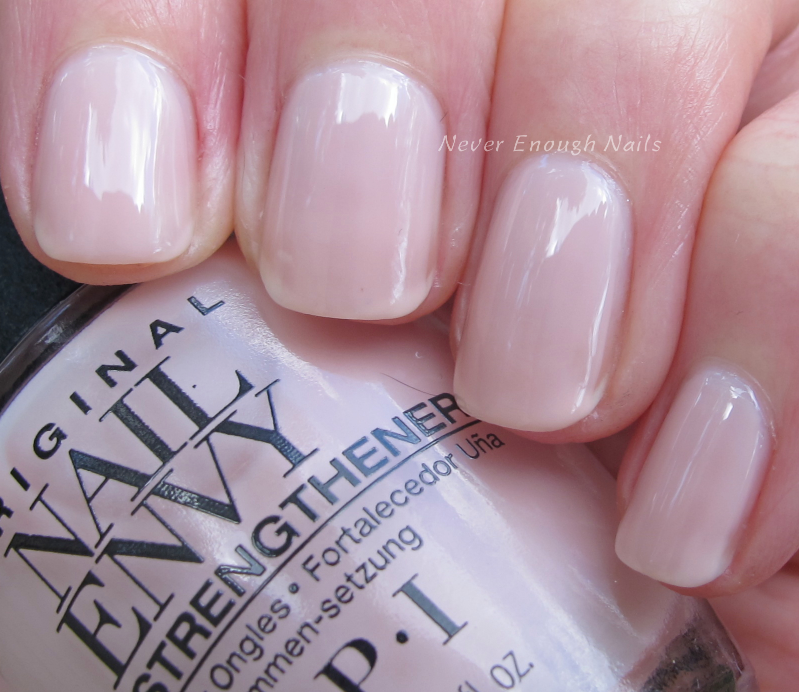 Never Enough Nails: OPI Nail Envy Strength + Color Swatches!