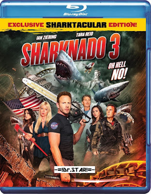 Sharknado 3 - Oh Hell No! 2015 Dual Audio BRRip 480p 250mb hollywood movie Sharknado 3 - Oh Hell No! hindi dubbed 300mb 480p compressed small size free download or watch online at https://world4ufree.ws