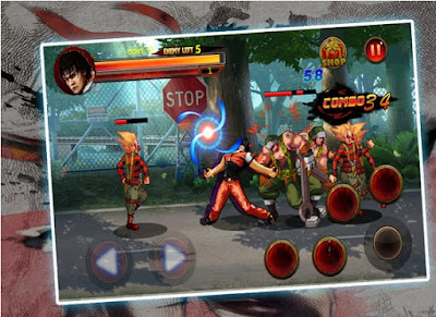 Kungfu Fighter In The Stree Mod Apk