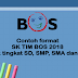 Contoh format SK TIM BOS 2018 untuk tingkat SD, SMP, SMA dan SMK