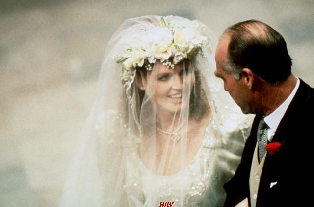 82fd876147 Podczas swojego ślubu - Sarah Ferguson