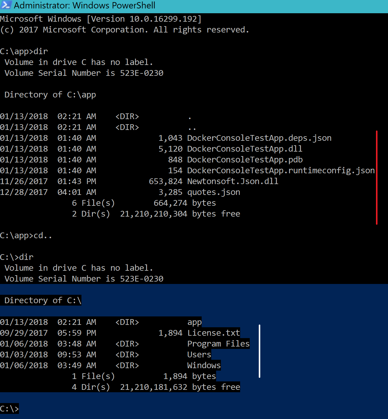 Getting Started With Docker For Windows - Containerize a C# Console