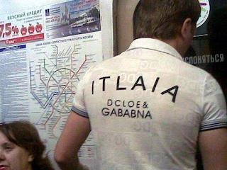 itlaia dcloe & gababna dsigner shirt fail