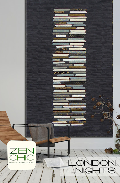 London Nights quilt pattern by Zen Chic