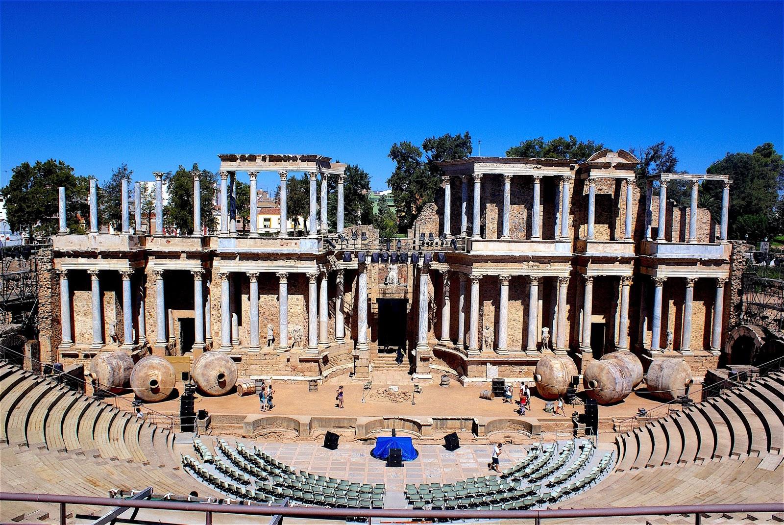 Boda Teatro Romano Merida : Mérida teatro romano siglos i y ii fotografía
