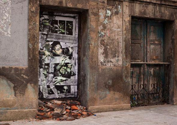 الفن بأى شىء وعلى أى شىء street-art-work-11.j