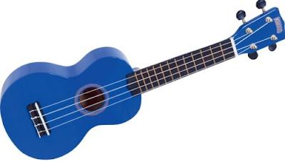 dan ukulele mau xanh duong