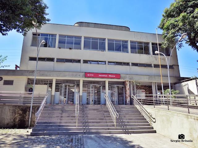 Vista ampla da Estação Mooca - CPTM - Mooca - São Paulo