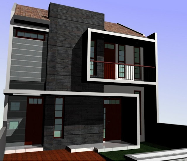 Gambar rumah minimalis yang banyak diminati