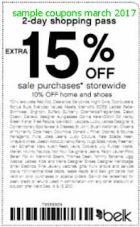 Belk coupons march