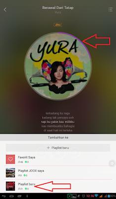 Cara Memutar Lagu di Aplikasi Android Joox Music Secara Offline