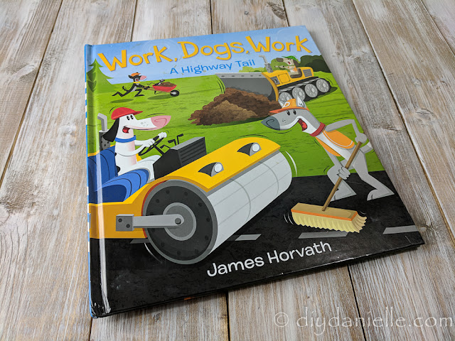 Work Dogs, Work! is a fun book with lots of trucks for little boys to read.