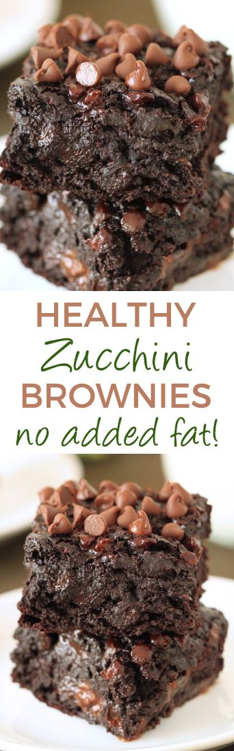 Zucchini Chocolate Brownies Recipe