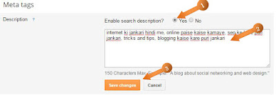 search description blog post me kaise add kare