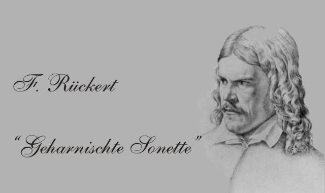 Bildnis Friedrich Rückert- Sonette