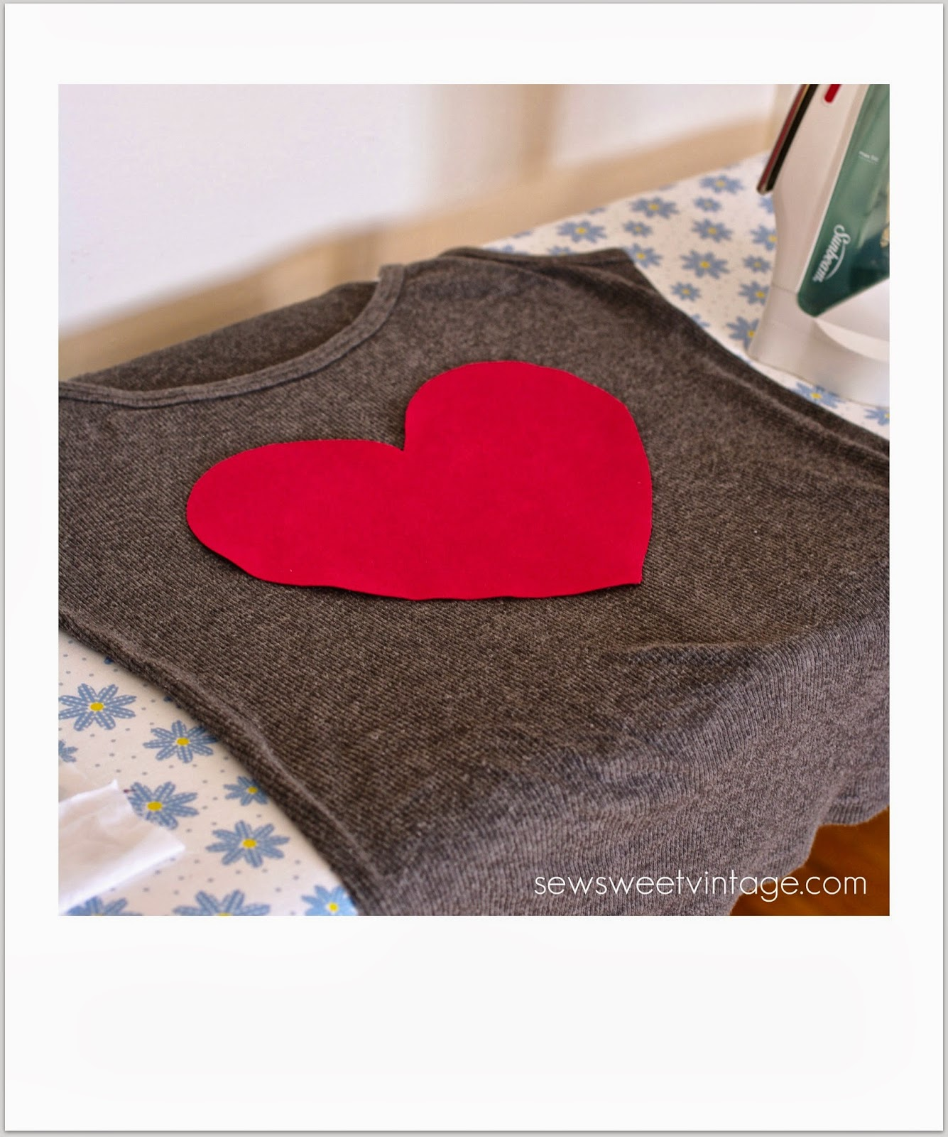 heart tank top craft