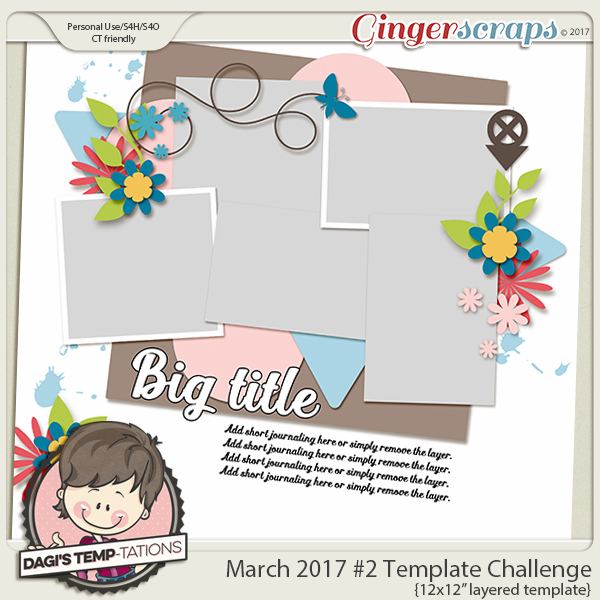 GS Template Challenge 2 March 2017