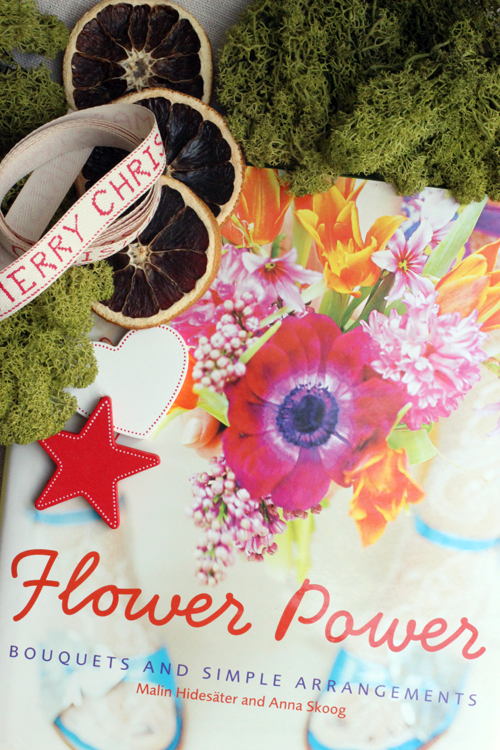 Book cover of Flower Power by Malin Hidesäter
