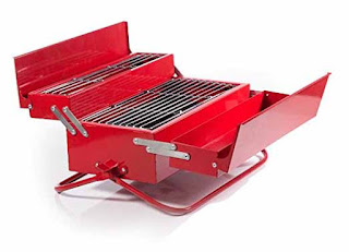 The BBQ Toolbox is a cool gift idea for that man that has everything.