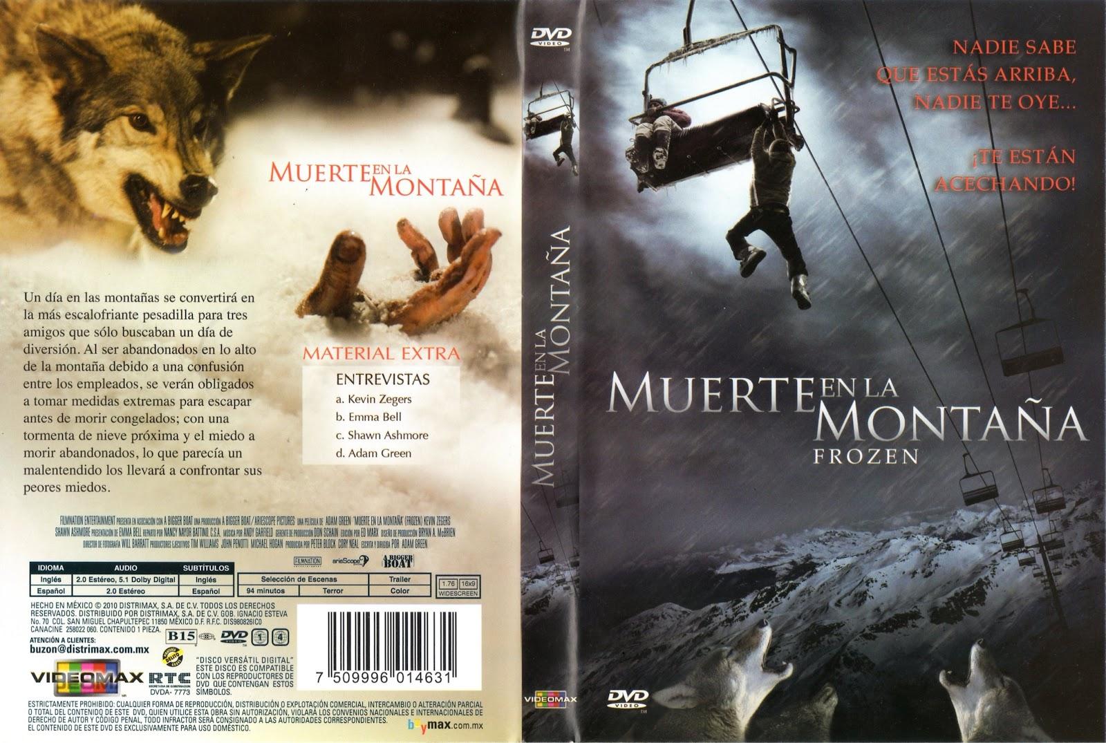 Muerte En La Montana: PELICULAS DVD FULL: MUERTE EN LA MONTAÑA