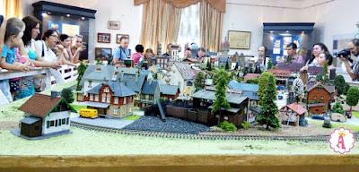 Моделирование миниатюр - мини-город с железной дорогой Николаев железнодорожный