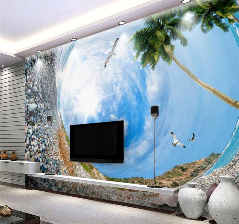 Amazing 3D Wallpaper For Living Room Walls 3D Wall Murals Images Designs (6)