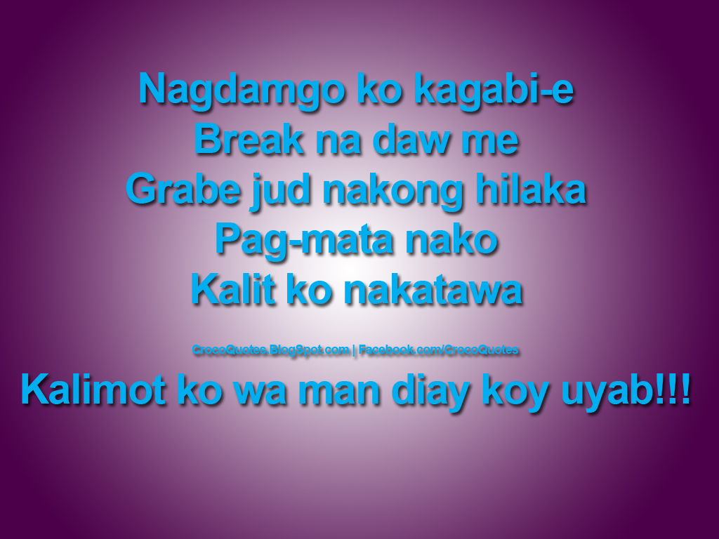 Inspirational Love Quotes Tagalog Him