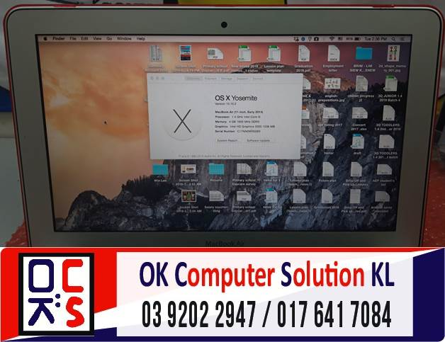 [SOLVED] MASALAH MACBOOK AIR NO DISPLAY | REPAIR LAPTOP AMPANG 2