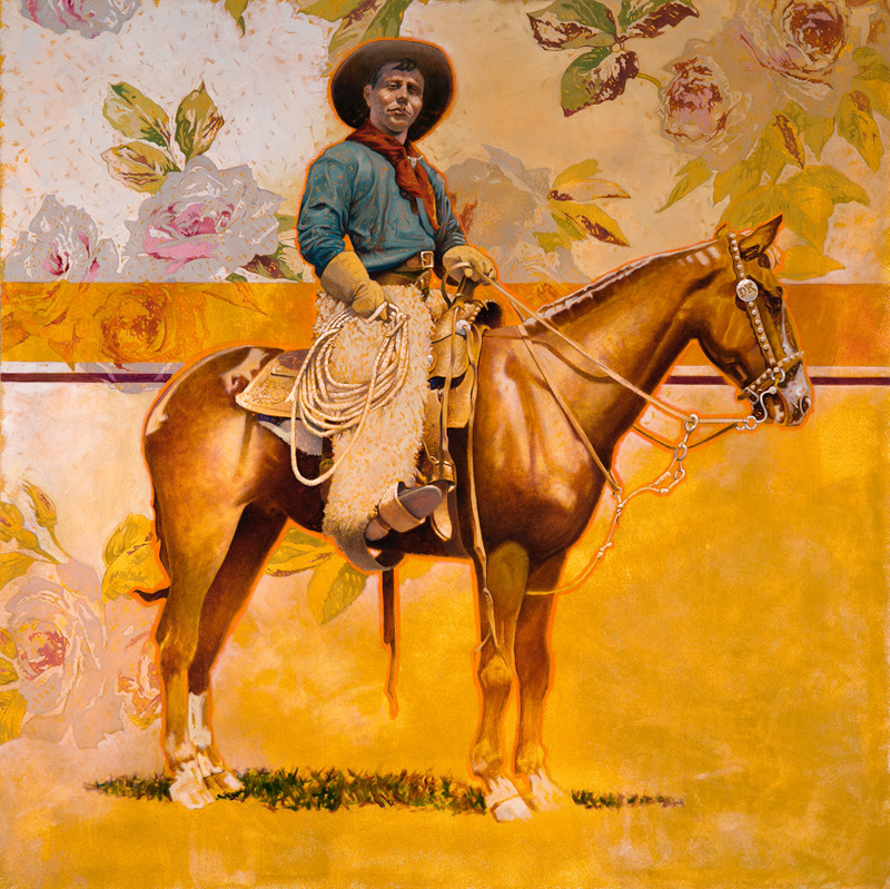 Real Cowboys Paintings by David Kammerzell.