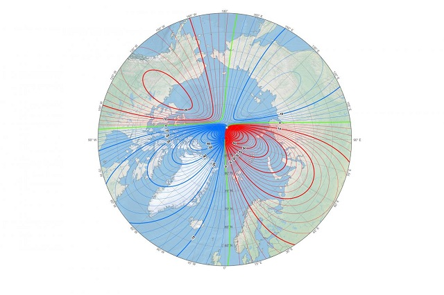 Science Mystery: Magnetic North is on the Move