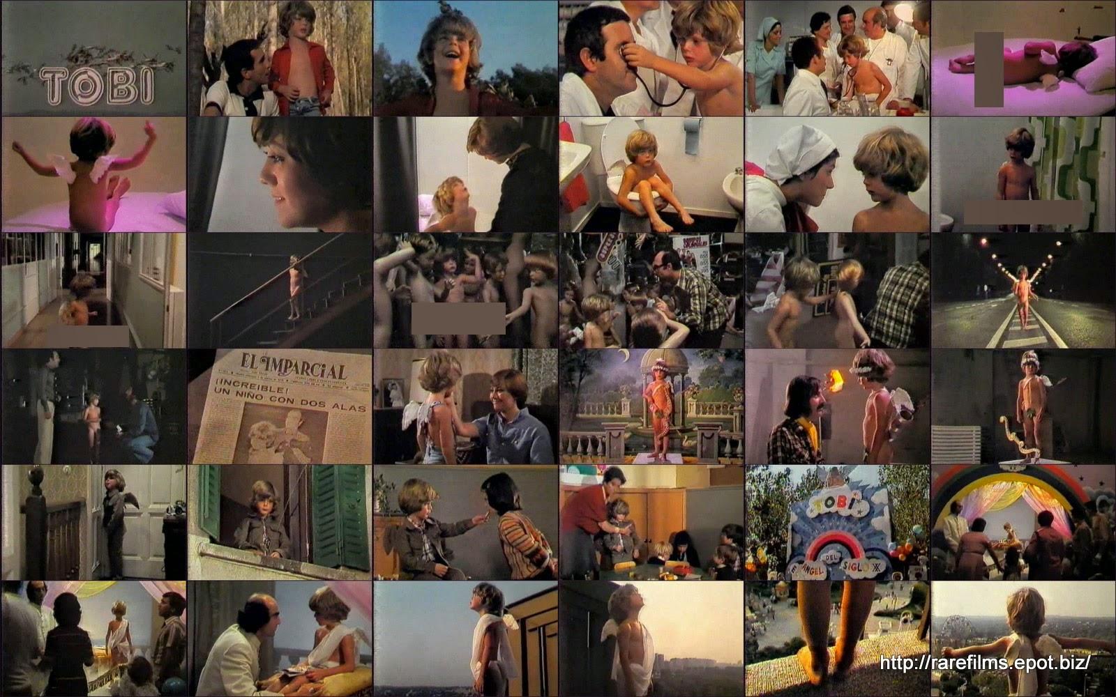 Тоби / Тоби, ребёнок с крыльями / Tobi / Tobi, el niño con alas. 1978.