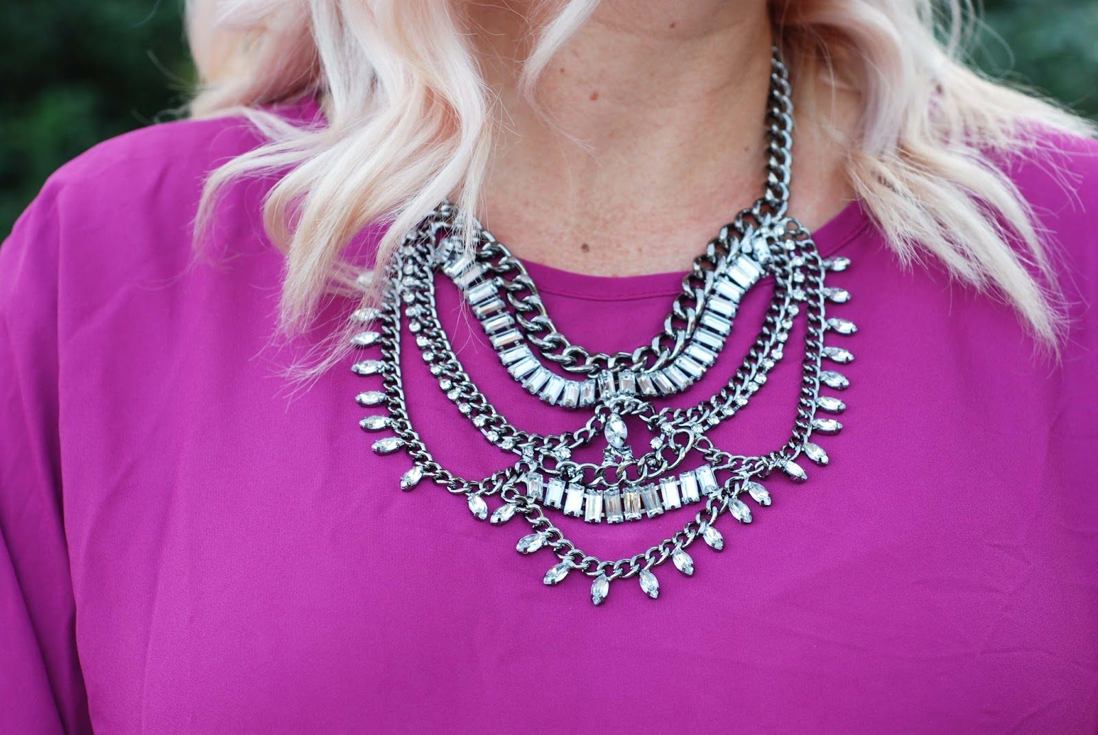 Statement necklace, Happiness Boutique