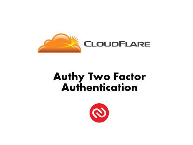 [教學] Cloudflare 啟用 Authy 兩步驟驗證登入設定_001